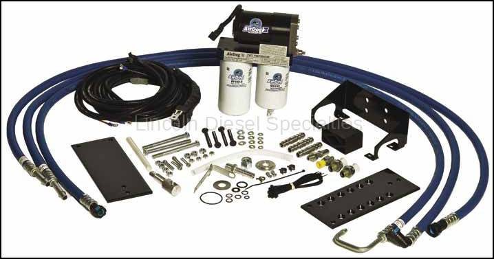 airdog fp 100 lift pump 2001 2010 rh lincolndieselspecialties com AirDog 2 Return Fitting AirDog Champ