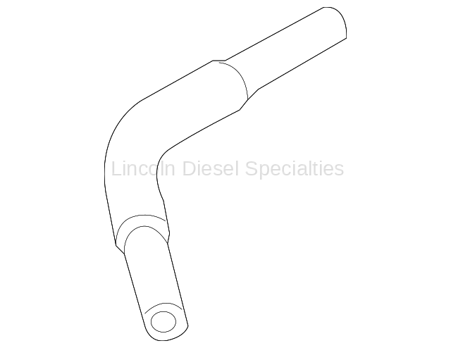 GM Turbo Coolant Feed Pipe