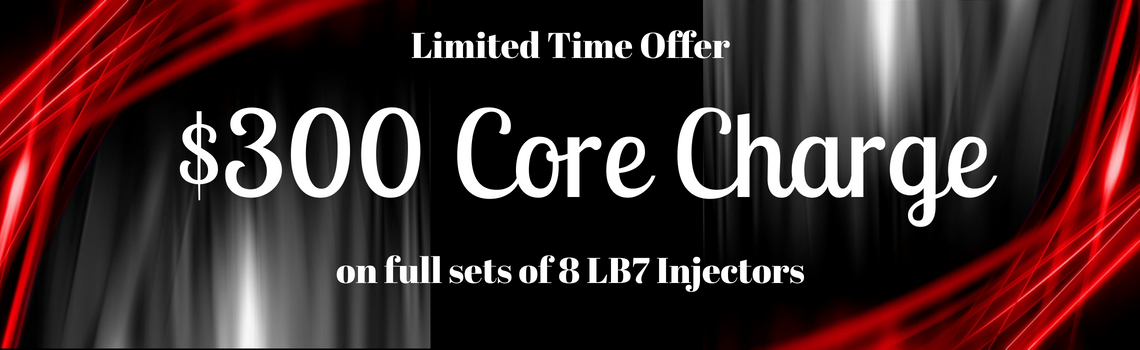 LB7 $300 Core Charge