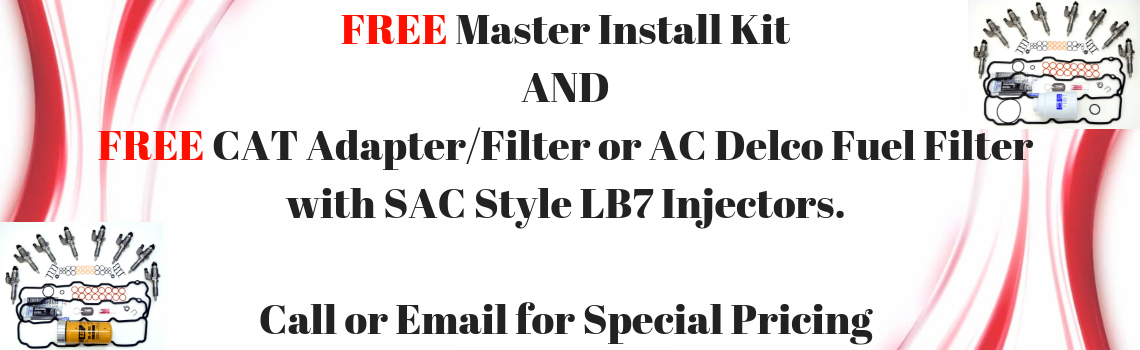 FREE Master Install Kit and Filter
