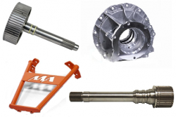 Transmissions - Pans, Shafts, Housings