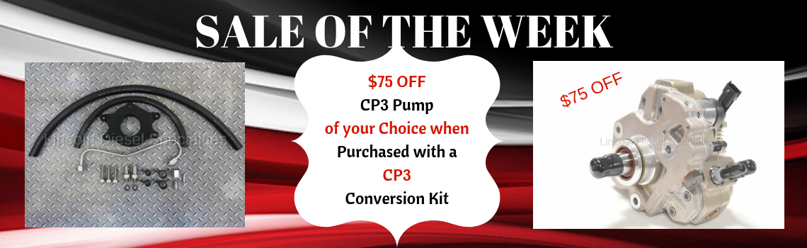 Sale of the Week CP3 Conversion w/Pump