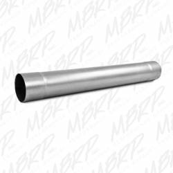 "MBRP - MBRP Universal 4"" Muffler Delete Pipe  4"" Inlet /Outlet 30"" Overall Length , Aluminized Steel"