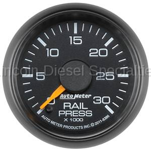 Auto Meter - Auto Meter Factory Matched Fuel Rail Pressure Gauge