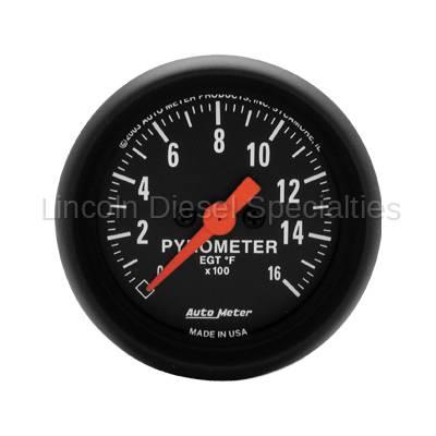 Auto Meter - Auto Meter Z-Series Pyrometer Kit (Universal)