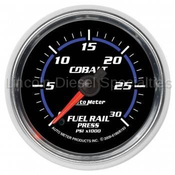 Auto Meter - Auto Meter Cobalt Series Fuel Rail Pressure Gauge