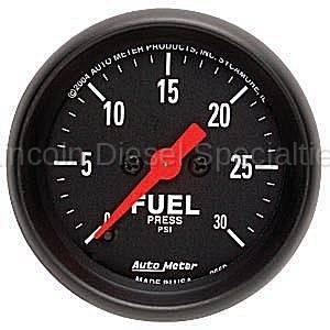 Auto Meter - Auto Meter Z-Series Fuel Pressure Gauge (Universal)