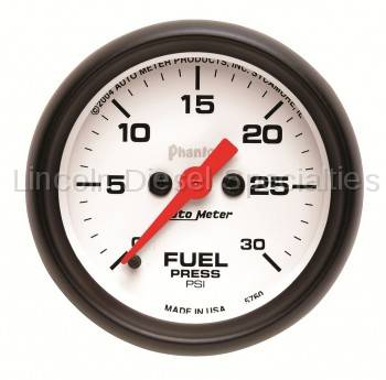 Auto Meter - Auto Meter Phantom Series Fuel Pressure Gauge
