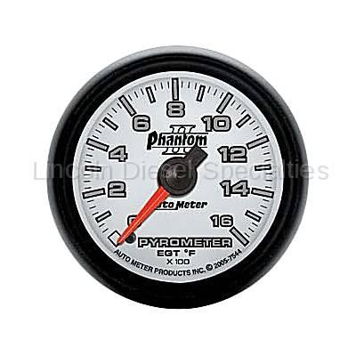 Auto Meter - Auto Meter Phantom II Series Pyrometer Gauge