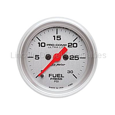 Auto Meter - Auto Meter Ultra-Lite Fuel Pressure Gauge