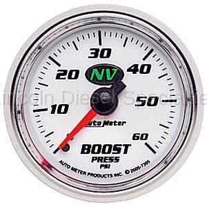 Auto Meter - Auto Meter NV Boost Gauge