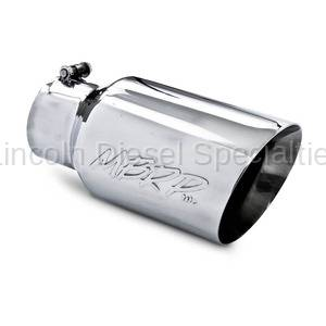 "MBRP - MBRP Universal 6"" Dual Wall Angled Exhaust Tip (4"" Inlet, 6"" Outlet)"