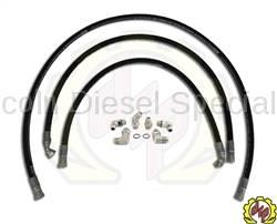 """Deviant Race Parts - Deviant 5/8"""" Leak Free High Performance Transmission Cooler Repair Lines 2006-2010"""