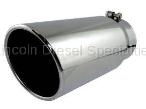 """AFE - AFE Mach Force-XP 5"""" Polished Stainless Steel Exhaust Tip; (4"""" Inlet, 5"""" Outlet)"""
