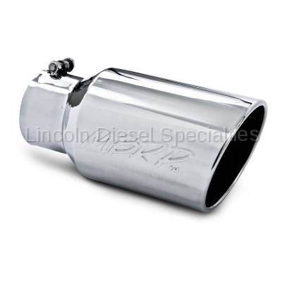 """MBRP - MBRP Universal  6"""" Angled Rolled End T304 Exhaust Tip ( 4"""" Inlet, 6"""" Outlet)"""
