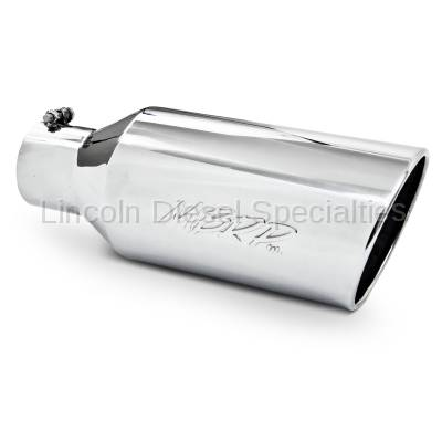 """MBRP - MBRP Universal 7"""" Rolled End T304 Exhaust Tip ( 4"""" Inlet 7"""" Outlet)"""