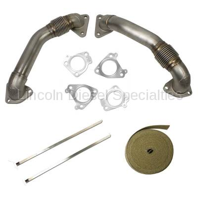 BD Diesel Performance - BD Power Up-Pipe Kit (T304 Stainless) 2001-2004