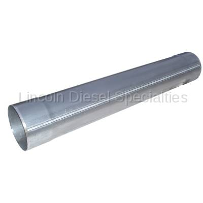 """MBRP - MBRP Universal  5"""" Muffler Delete Pipe 5"""" Inlet /Outlet , 31"""" Overall Length, Aluminized Steel"""