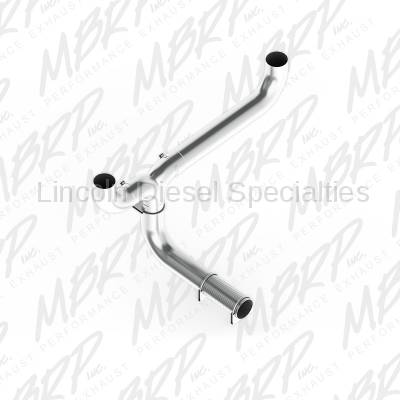 """MBRP - MBRP SMOKERS™ Universal  XP Series 5"""" Dual """"T"""" Pipe T409  Kit"""