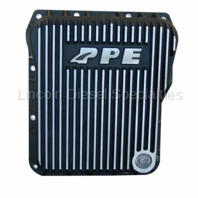 PPE - PPE Low Profile Aluminum Transmission Pan Brushed Finish