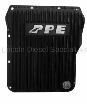 PPE - PPE Low Profile Aluminum Transmission Pan - Black Finish