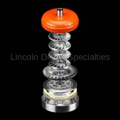 Suncoast - Sun Coast Triple Disc Torque Converter GM-1058-3D