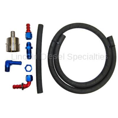 PPE - PPE Billet Aluminum Fuel Pump Pickup Kit