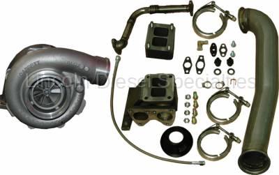 PPE - PPE Turbo Install Kit with Garrett GT42R Turbo