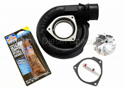 Lincoln Diesel Specialities - LDS 63.5mm Turbo Cover and Wheel Package