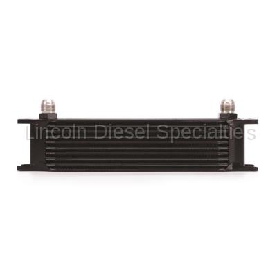 Mishimoto - Mishimoto Universal 10 Row Oil Cooler (Black)
