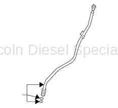GM - GM Engine Oil Dip Stick Tube (2007.5-2010)