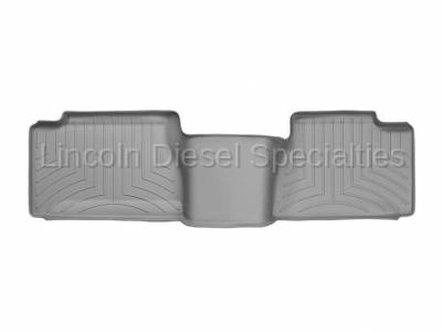 WeatherTech - WeatherTech Duramax 2nd Row Only Floor Liner with Standard Over Hump Rear (Grey) 2001-2007