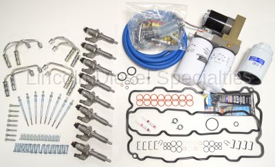 Complete LB7 Injector Install Kit with Lift Pump