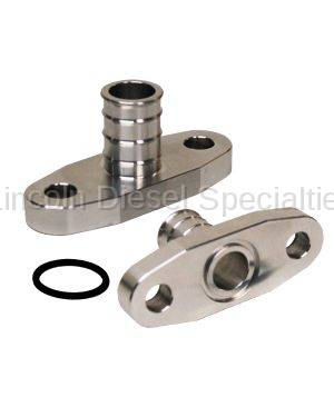 PPE - PPE Duramax T4 Oil Drain Fitting (2001-2010)