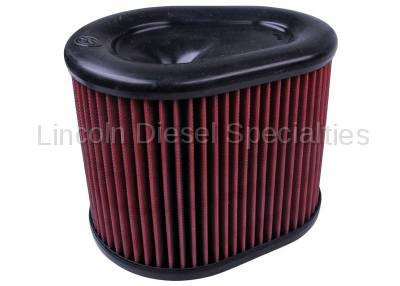 S&B - S&B  Cold Air Intake Replacement Filter Element, Dry Disposable (2015-2016)