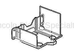 GM - GM OEM Frame Mount Battery Tray (2001-2018)