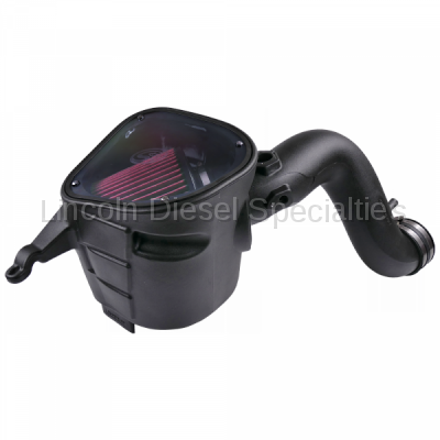 S&B - S&B Dodge/Cummins 6.7L, Cold Air Intake System(Oiled Cleanable Filter) (2007.5-2009)