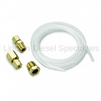 "Auto Meter - Auto Meter Nylon Tubing,1/8"", 10FT. Lng, with 1/8"" NPTF Brass Compression Fittings"