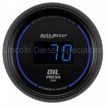 Auto Meter - Auto Meter Cobalt Digital Series, Oil Pressure, 5-100 PSI, (Universal)
