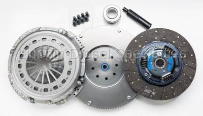 South Bend Clutch - South Bend NV5600 Full Organic Heavy Duty  Clutch Kit, W/ Flywheel, 425HP, 20K Towing (2000.5-2005.5)