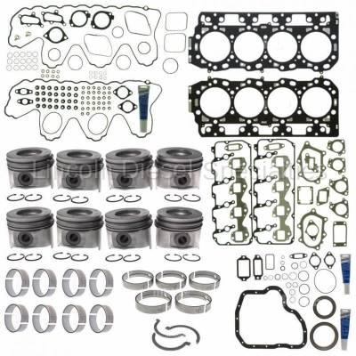 Mahle - Mahle Motorsports Complete Master Engine Rebuild Kit w/Performance Cast Pistons, No Pockets (2006-2010)