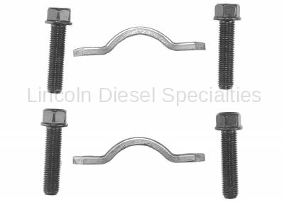 GM - GM OEM 3R Series U Joint Strap and Bolt Kit  for 9.25 Front Drive Shaft