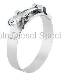 Lincoln Diesel Specialities - LDS Stainless Steel T-Bolt Clamp (Universal)