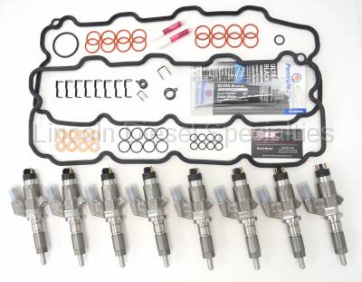 Lincoln Diesel Specialities - 2001-2004 LDS LB7 BRAND NEW 45% SAC Style Fuel Injectors *NO CORE CHARGE*