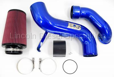 "Lincoln Diesel Specialities - 2007.5-2010 LDS 4"" Stage 2 Air Intake Kit"