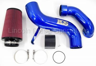 "Lincoln Diesel Specialities - LDS 4"" Stage 2 Air Intake Kit 2004.5-2005"