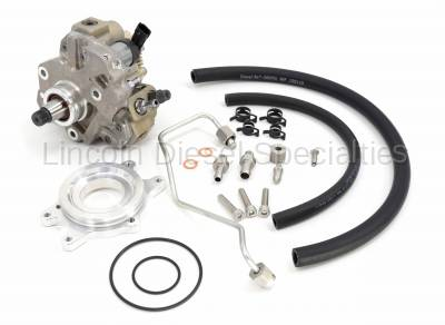 Lincoln Diesel Specialities - LDS CP3 Conversion Kit with Recalibrated Pump, No Tuning Required (2011-2016)