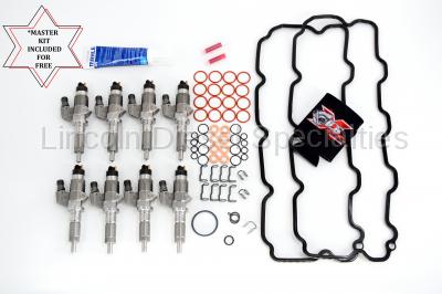BOSCH - 2001-2004 OEM Genuine BOSCH® Reman LB7 Fuel Injectors