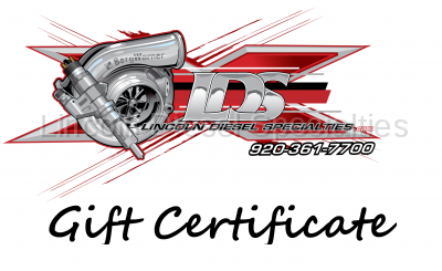 Lincoln Diesel Specialities - LDS Gift Certificate