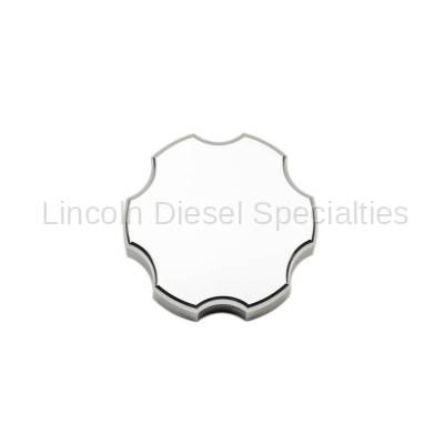 Wehrli Custom Fabrication - Wehrli Custom Fab 1999-2019 GM 1500/2500/3500 Billet Aluminum Brake Master Cylinder Cap, Clear Anodized